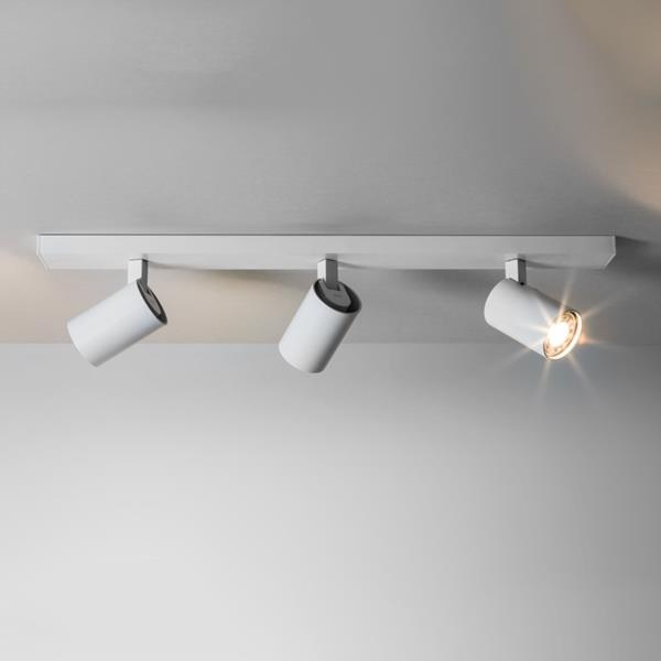 Ascoli 3 Light Wall Spotlight White