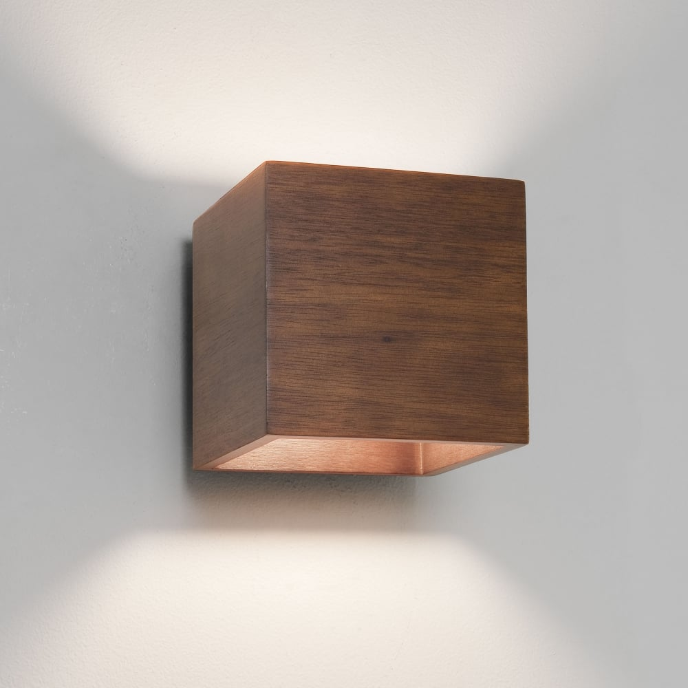 Astro 0399 Cremona 1 Light Wall Light Walnut