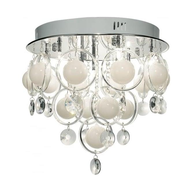 Crystal Universal Ceiling Fan Light Kit