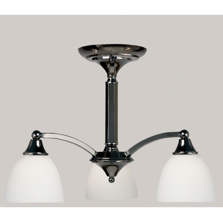 Endon 185 3bc 3 light modern ceiling light black chrome endon 185 3bc 3 light modern ceiling light black chrome finish mozeypictures Image collections
