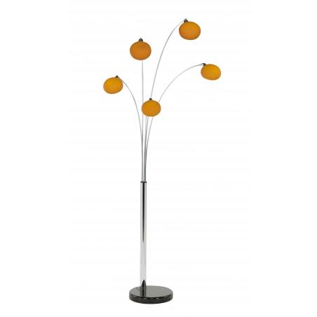 Buy orange lounge 5 modern floor lamp for Buy retro floor lamp