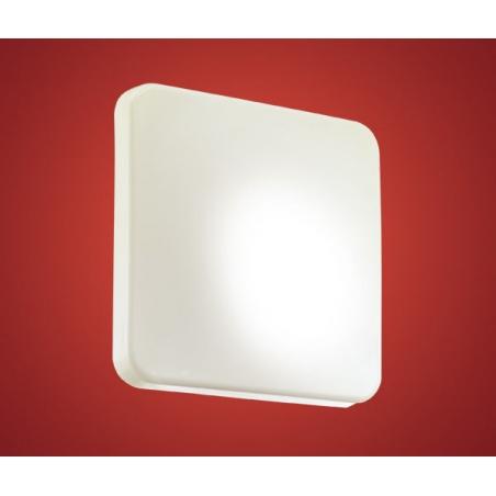 Eglo 89254 Giron low energy 1 light modern wall/ceiling light white plastic finish (small ...