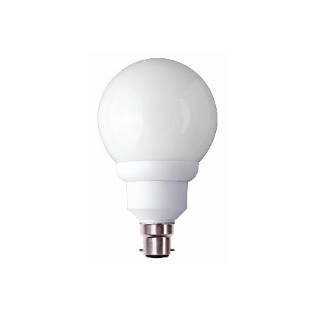 bell bell 00740 cfl globe 90mm low energy 15 watt bc b22 warm white bulb light bulbs from. Black Bedroom Furniture Sets. Home Design Ideas