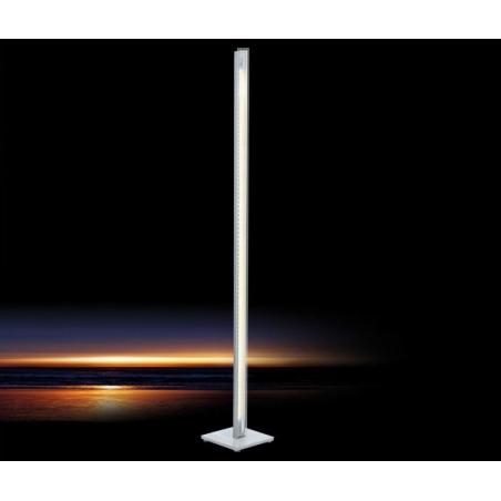 eglo eglo 90952 lepora modern led floor lamp chrome finish satinated glass floor lamps from. Black Bedroom Furniture Sets. Home Design Ideas