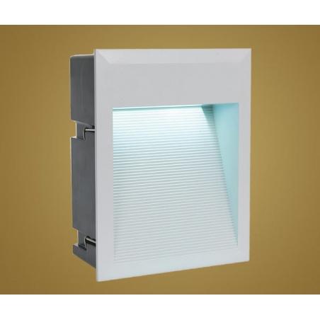 Eglo eglo 89544 zimba led 1 light outdoor recessed led wall light 89544 zimba led 1 light outdoor recessed led wall light silver finish ip65 rated aloadofball Images