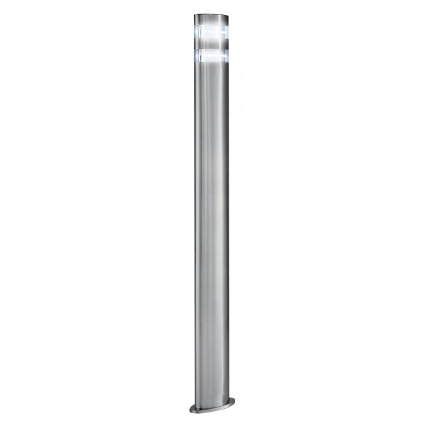 Searchlight 5304 900 outdoor led post lamp satin for Contemporary outdoor post light fixtures