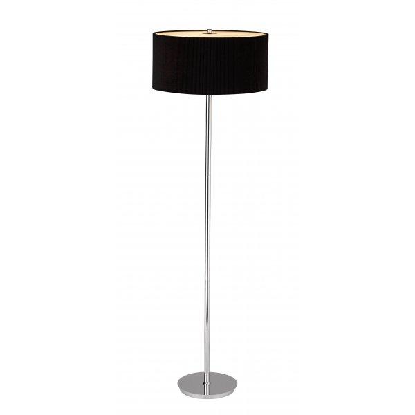 Zaragoza ZAR4922 | Dar Modern Black/Chrome Floor Lamps