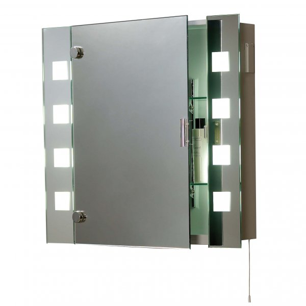 El milos low energy bathroom cabinet 2 light switched mirror cabinet el milos 2 light switched low energy bathroom mirror cabinet ip44 aloadofball Choice Image
