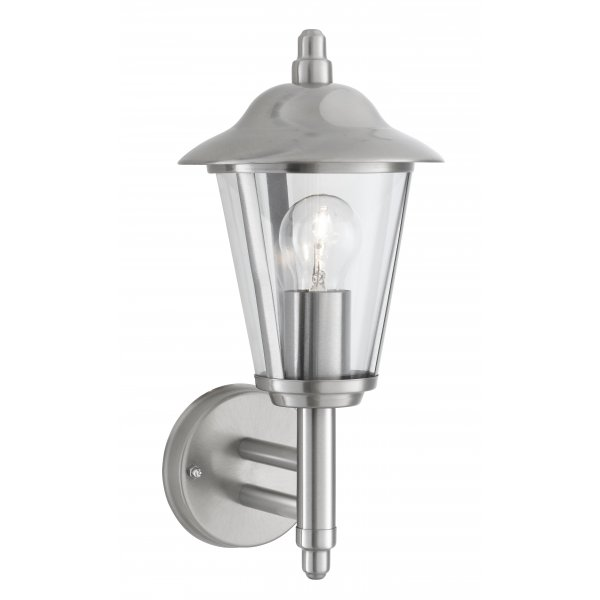 Searchlight 078 Outdoor Wall Light Brushed Chrome