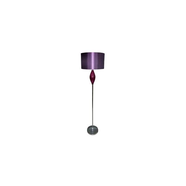 Searchlight 3420PU 1 Light Floor Lamp Purple