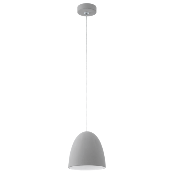 92521 pratella pendant grey ceramic pendant pratella eglo 92521 pratella 1 light pendant grey ceramic aloadofball Image collections