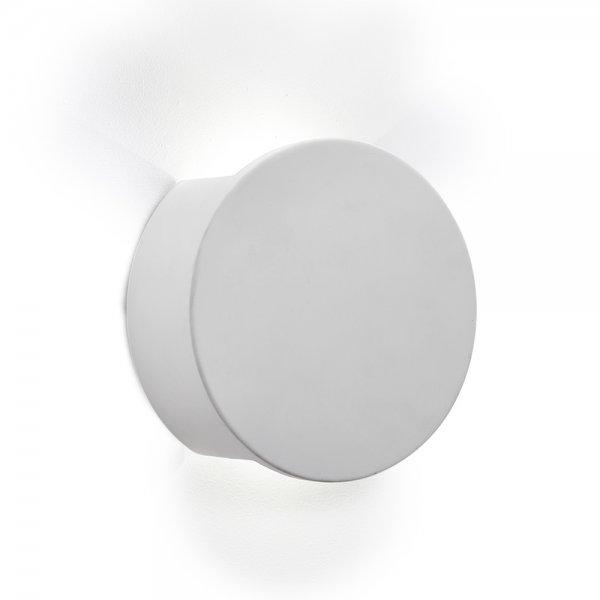 Led Wall Lights Plaster: Gypsum LED Wall Light White Plaster