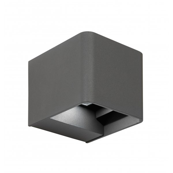 Endon el 40072 outdoor led up and down wall light matt grey ip54 el 40072 odin outdoor adjustable led up and down wall light matt grey ip54 audiocablefo