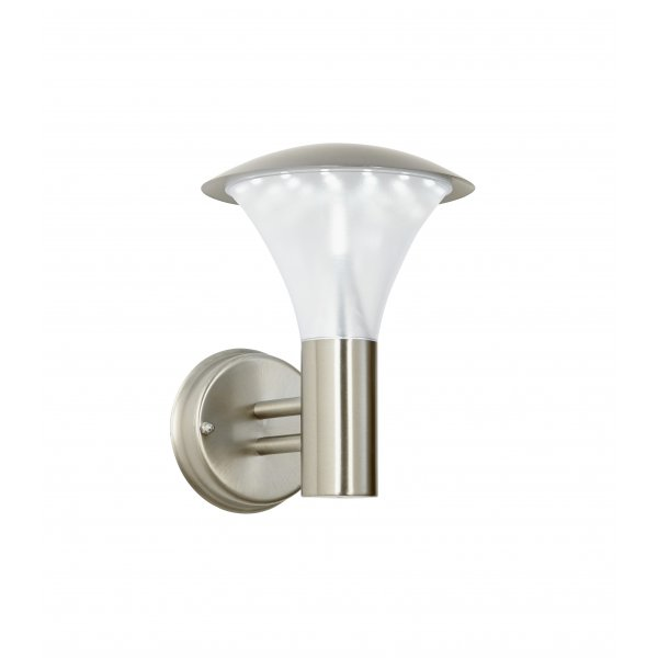 endon el 40068 francis outdoor led wall light stainless steel ip44