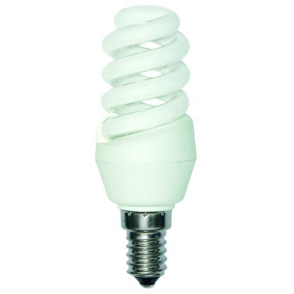 Bell Cfl Ultra Mini Spiral Low Energy Ses E14 Warm White Bulb