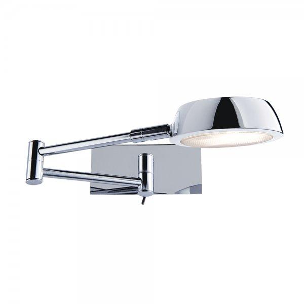 Cuba Wall Light Chrome : Searchlight 3863CC Adjustable Wall Lights 1 Light Polished Chrome Wall Light