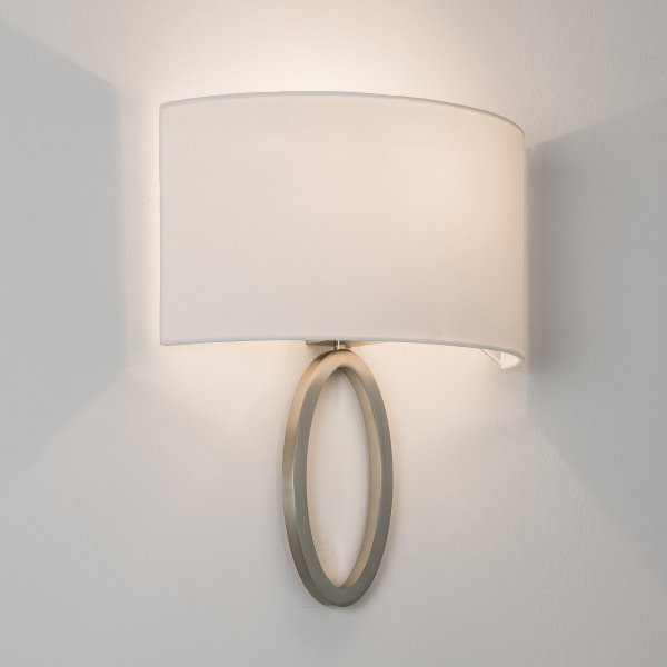 astro 7150 lima 1 light matt nickel wall light 26369