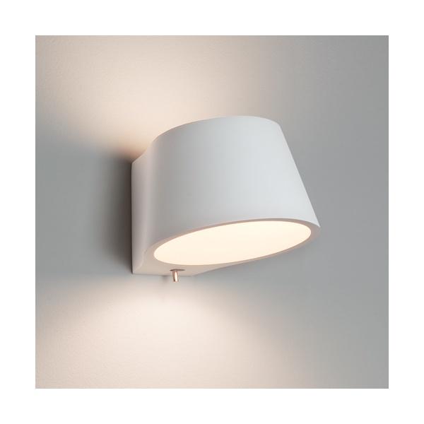 Astro 0695 koza 1 light wall light plaster for Applique exterieur up down