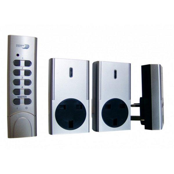 Home Lighting Controls: Remote Control Socket 3 Pack Kit
