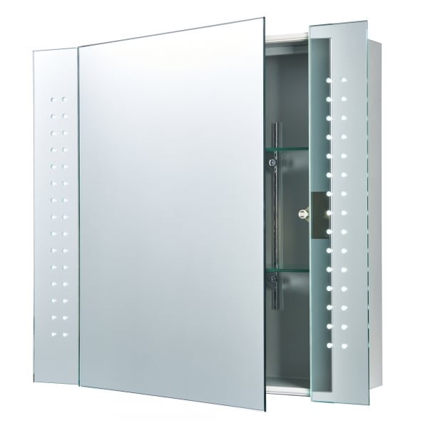60894 led bathroom cabinet sensored mirror cabinet