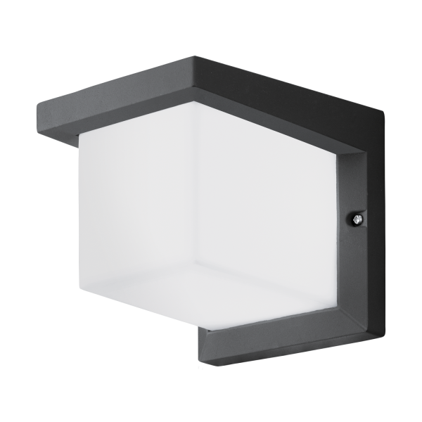 eglo 95097 desella1 led outdoor wall light anthracite ip44