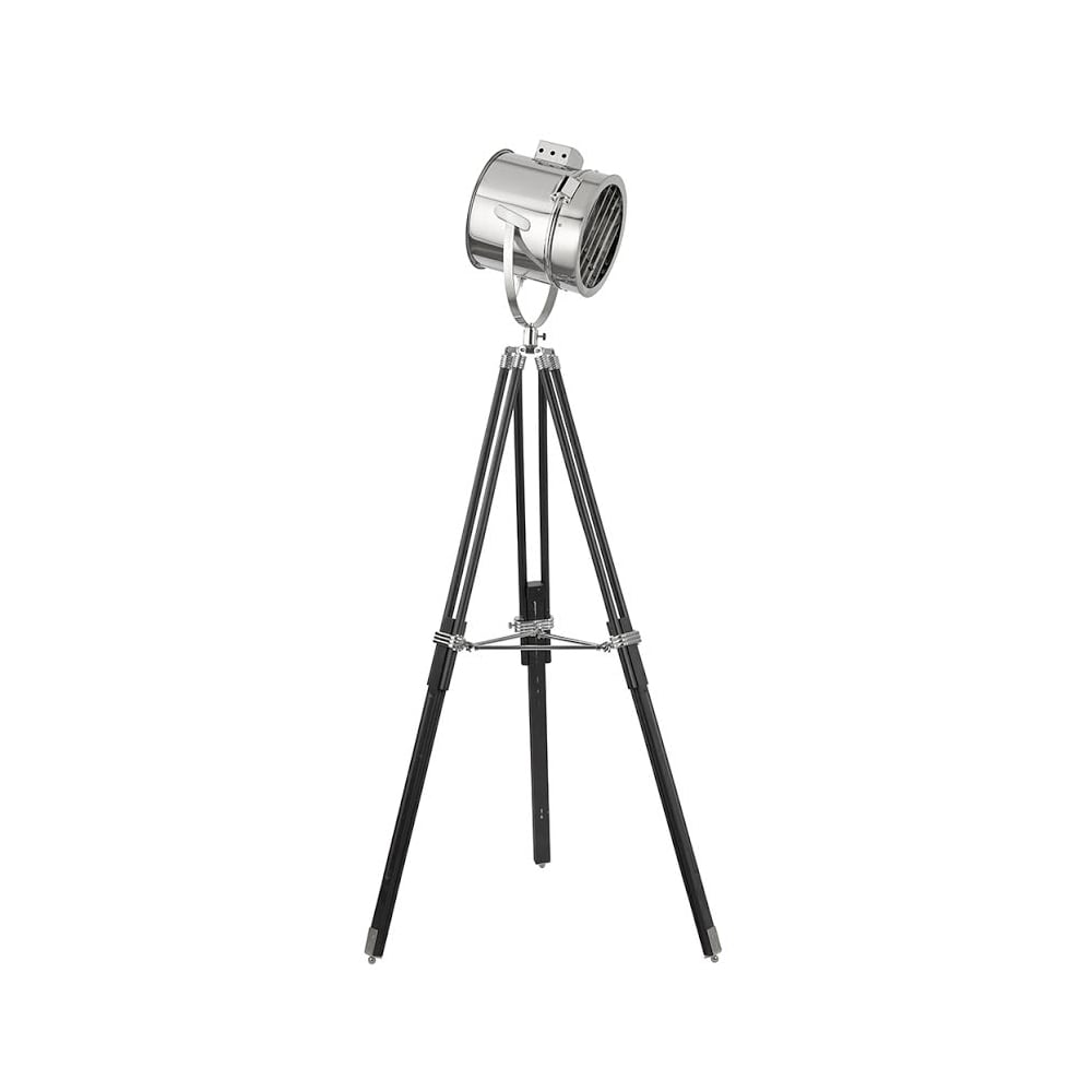 Searchlight 3013 | 1 Light Modern Stage Lamp Floor Lamp | Chrome ...
