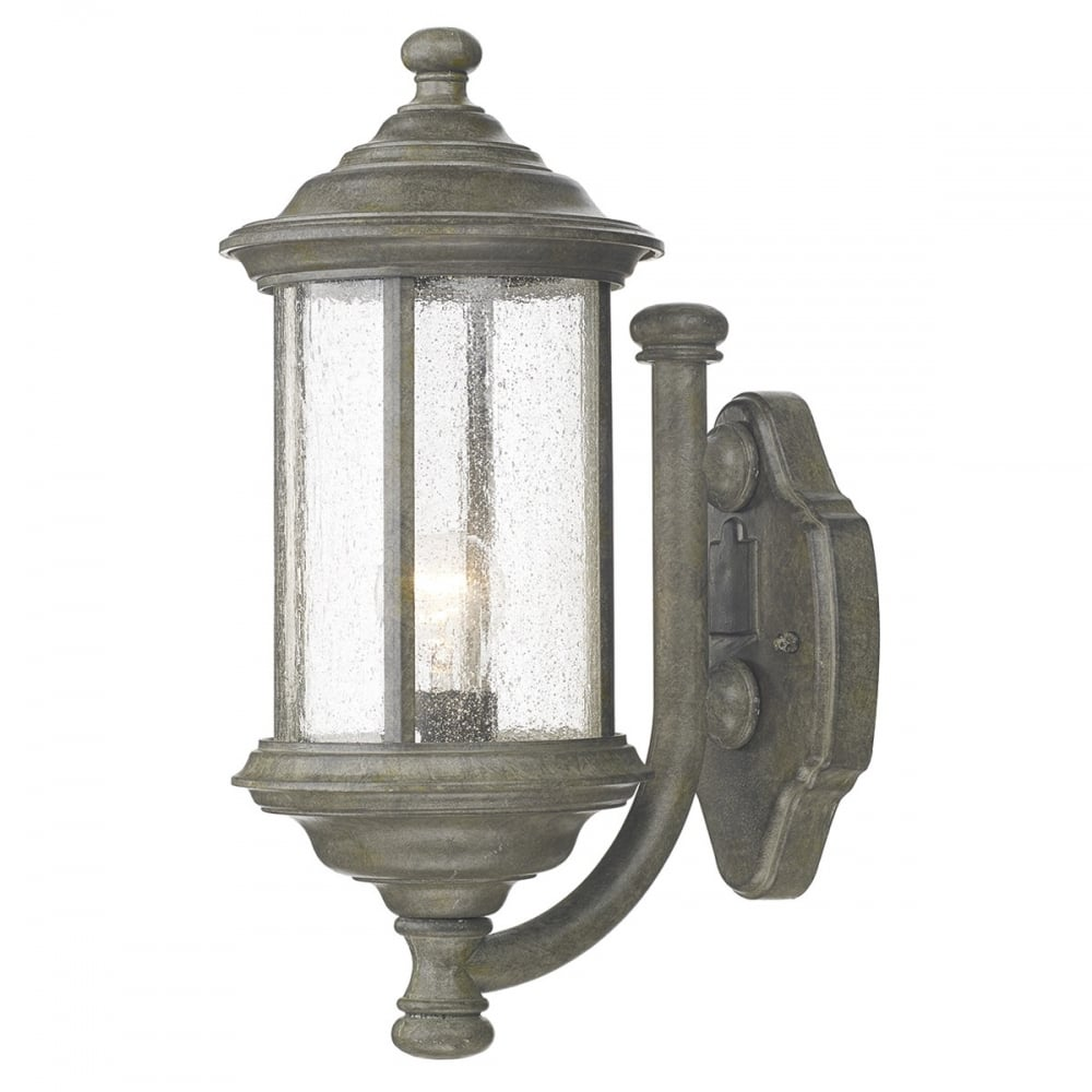 Outdoor Wall Lights Types: Dar Dar BRO1661 Brompton 1 Light Outdoor Wall Light IP43