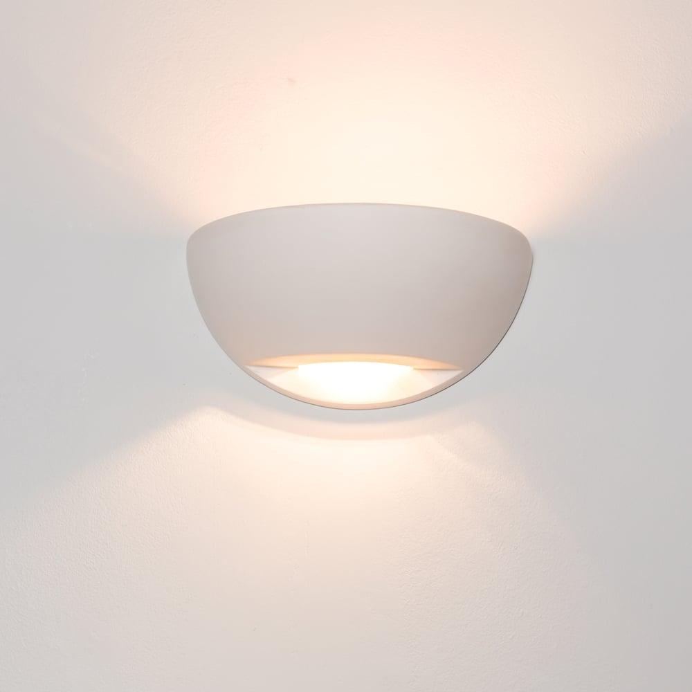 Alfie Lighting Richmond Gypsum 1 Light Wall Light