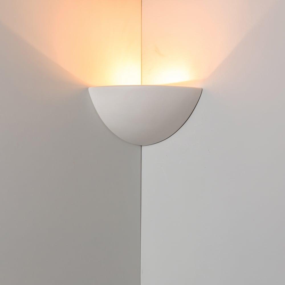 0165sto stokesley gypsum 1 light wall light. Black Bedroom Furniture Sets. Home Design Ideas