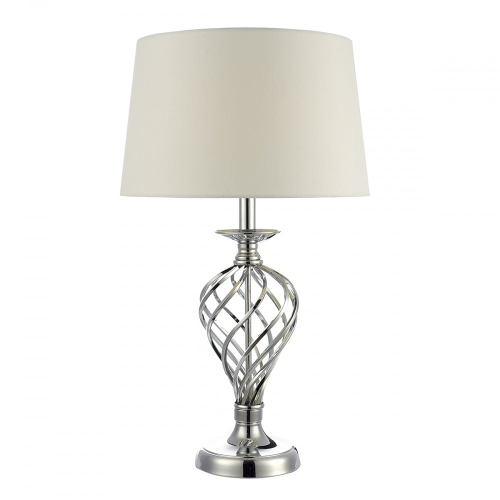 dar iff4350 iffley 1 light large touch table lamp polished. Black Bedroom Furniture Sets. Home Design Ideas