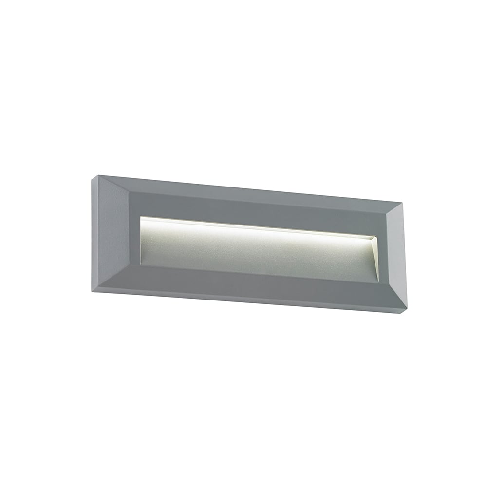 Led Wall Light Ip65: Endon EL-40104 Severus LED Wall Light IP65 Grey