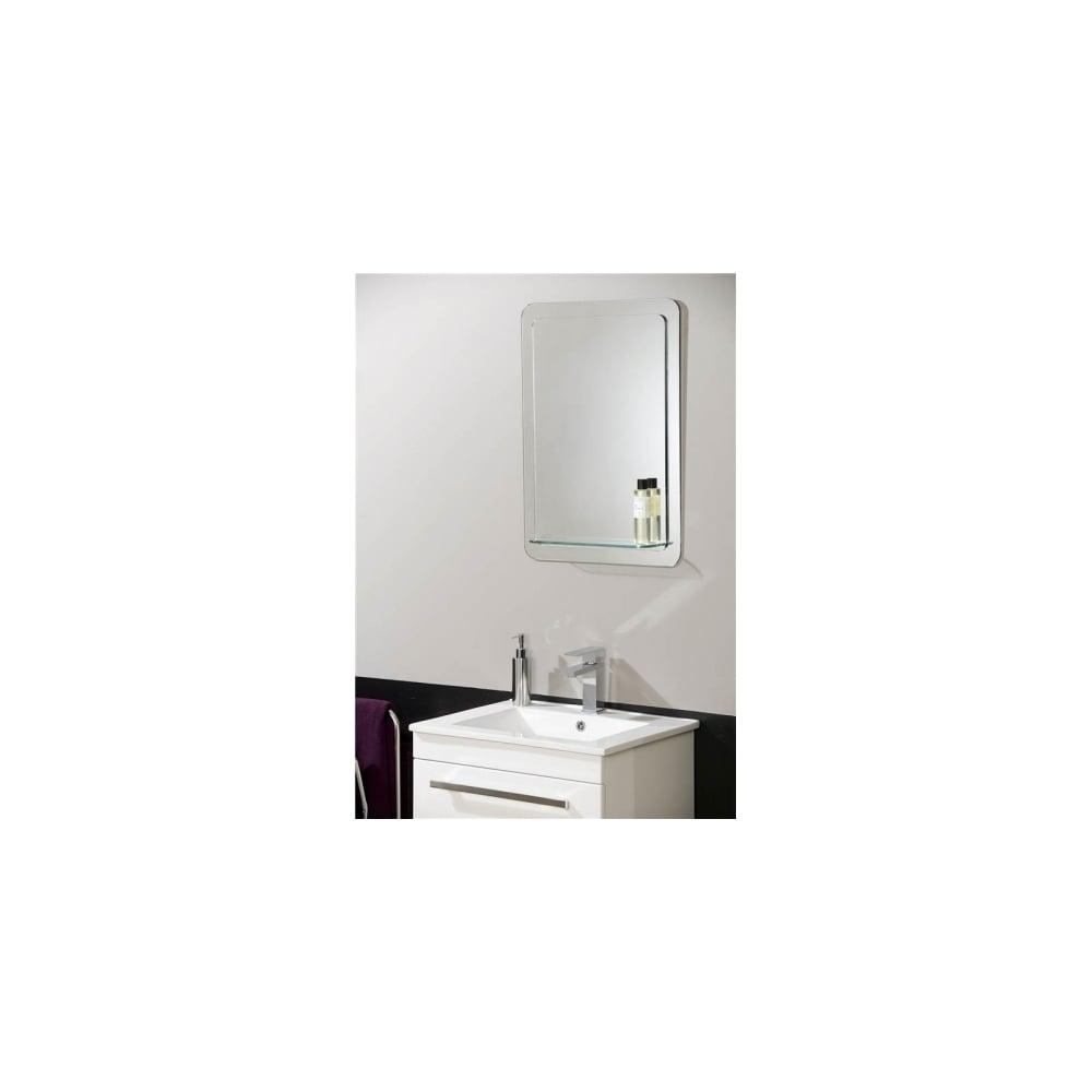 Endon EL-KATERINI | Non Electric Mirror With Shelf