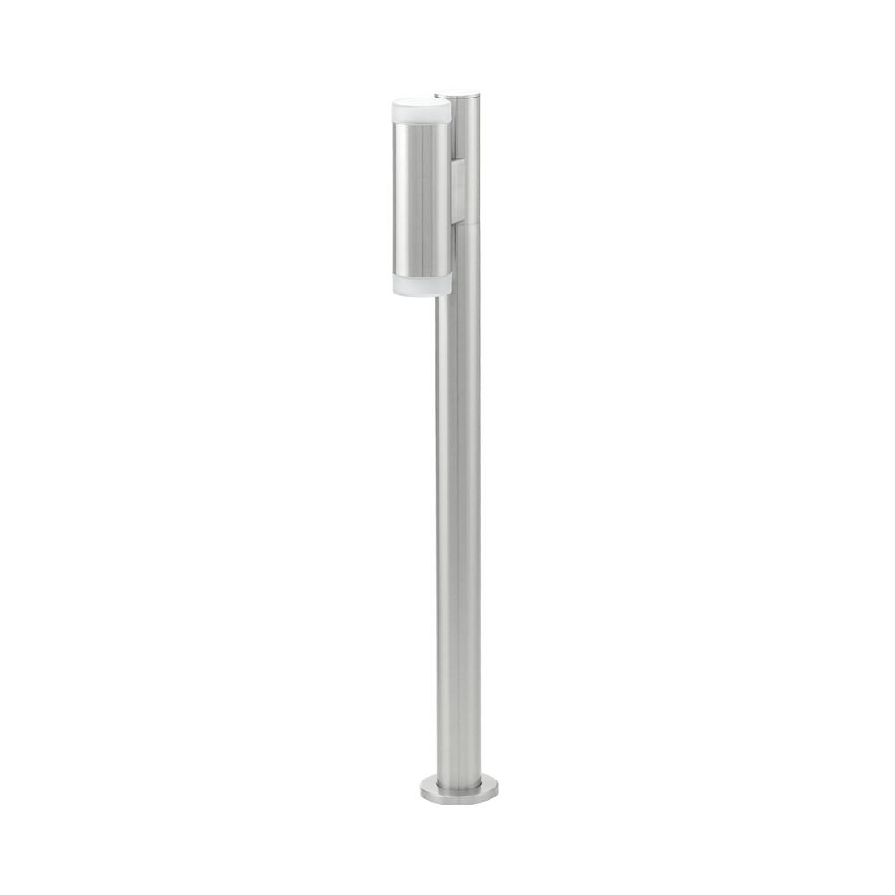 2 light led post lamp in the riga range by eglo. Black Bedroom Furniture Sets. Home Design Ideas