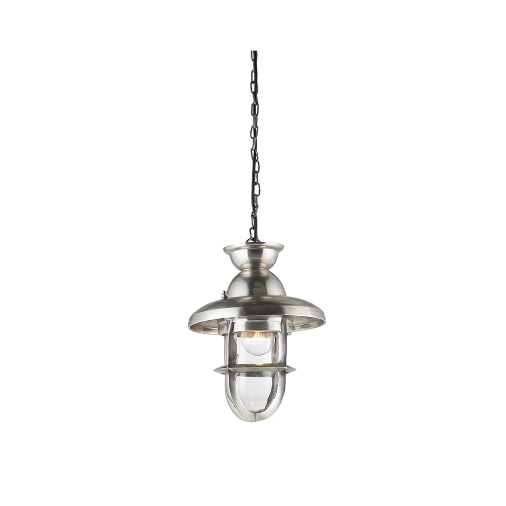 endon eh rowling l rowling large silver ceiling pendant