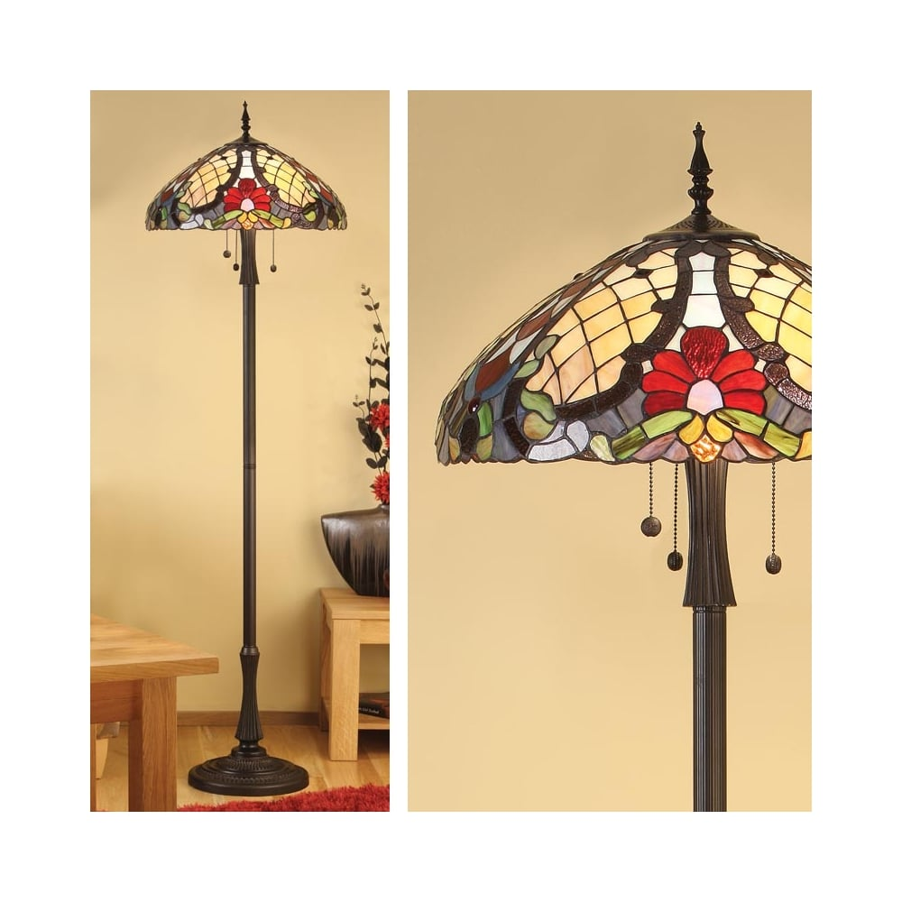 Interiors 1900 Diana 3 Light Floor Lamp