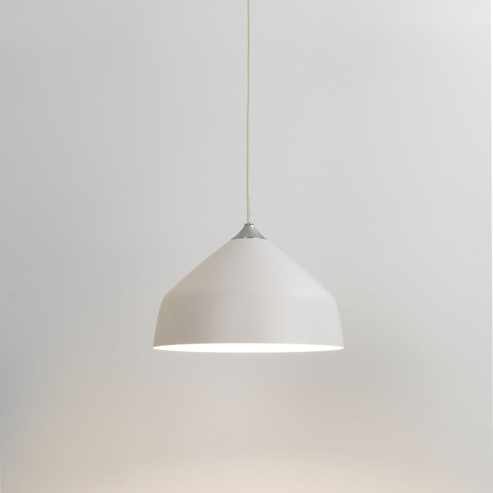 Astro 7520 Ginestra 300 White Ceiling Pendant Light Grey