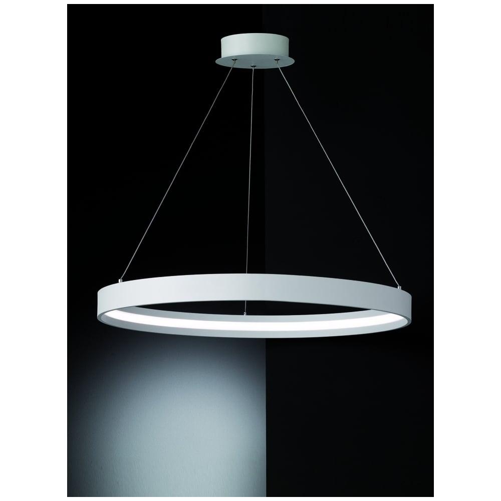 Franklite Hollo Ivory LED Ceiling Pendant