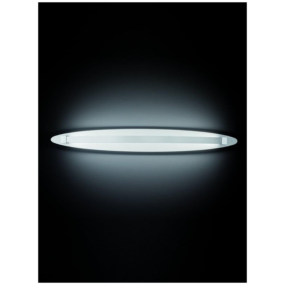 Large Chrome Wall Lights : Franklite Hollo Ivory LED Wall Light
