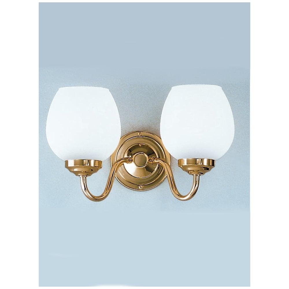Cob22708715 alba polished brass wall light franklite wall lights cob22708715 alba 2 light wall light polished brass aloadofball Choice Image