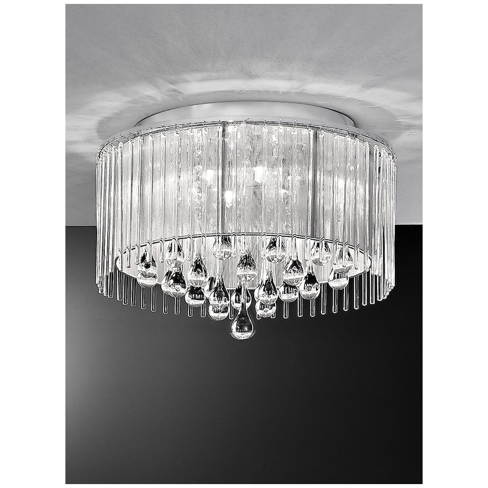 Franklite Spirit Lights Spirit Crystal Ceiling Light