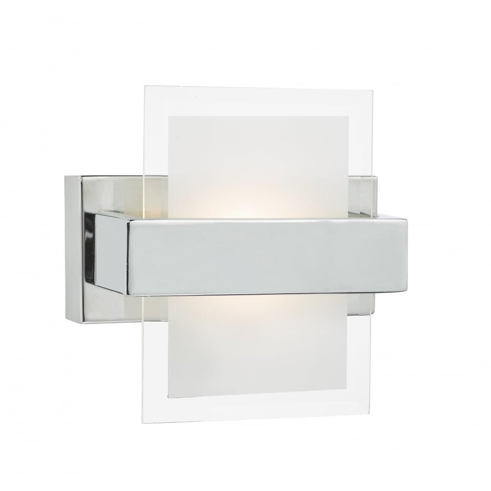 apt0750 apt led switched wall light polished chrome