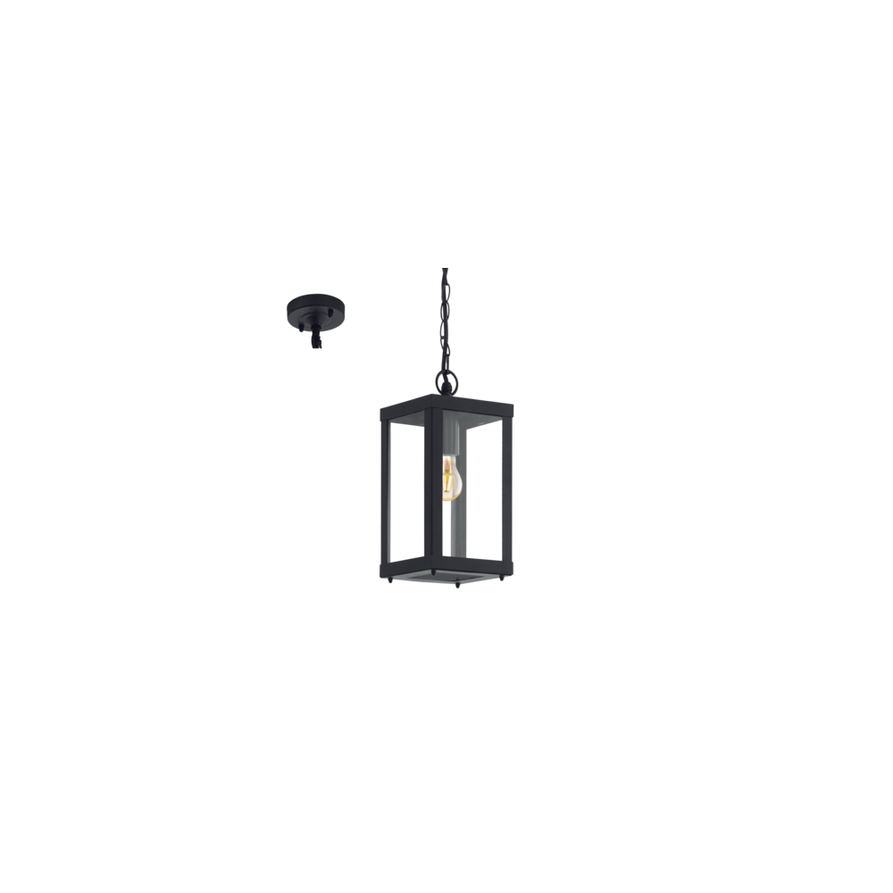 this 1 light lantern is made of painted black stainless steel. Black Bedroom Furniture Sets. Home Design Ideas