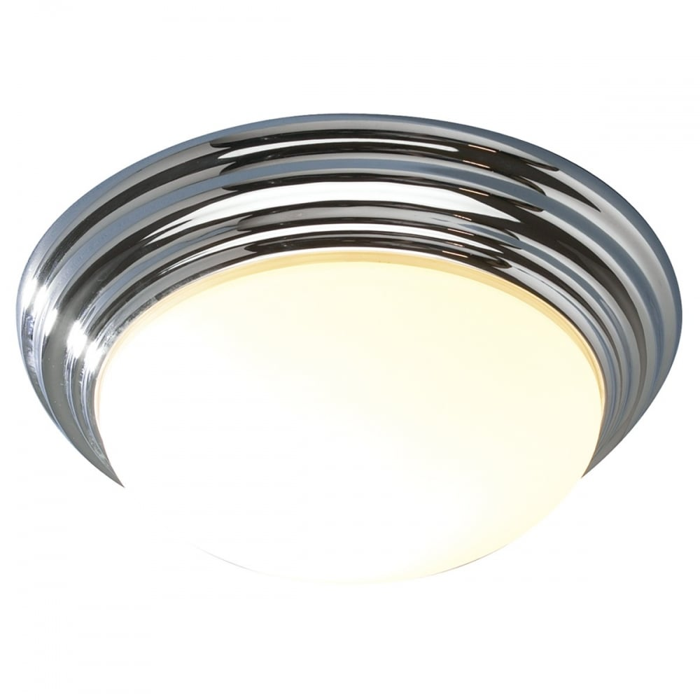 Dar Dar BAR5250 Barclay 1 light modern bathroom ceiling light flush ...