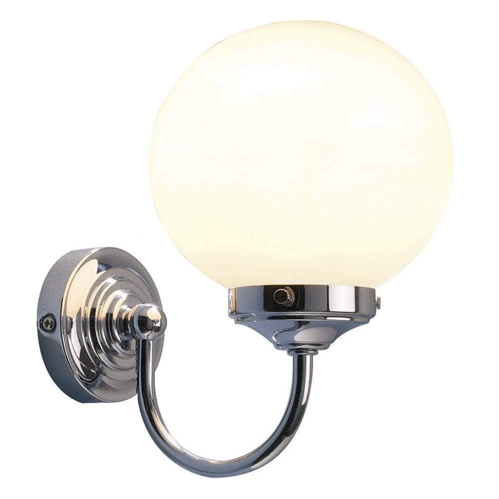 Dar dar bar0750 barclay 1 light switched bathroom wall light bar0750 barclay 1 light switched bathroom wall light polished chrome ip44 audiocablefo