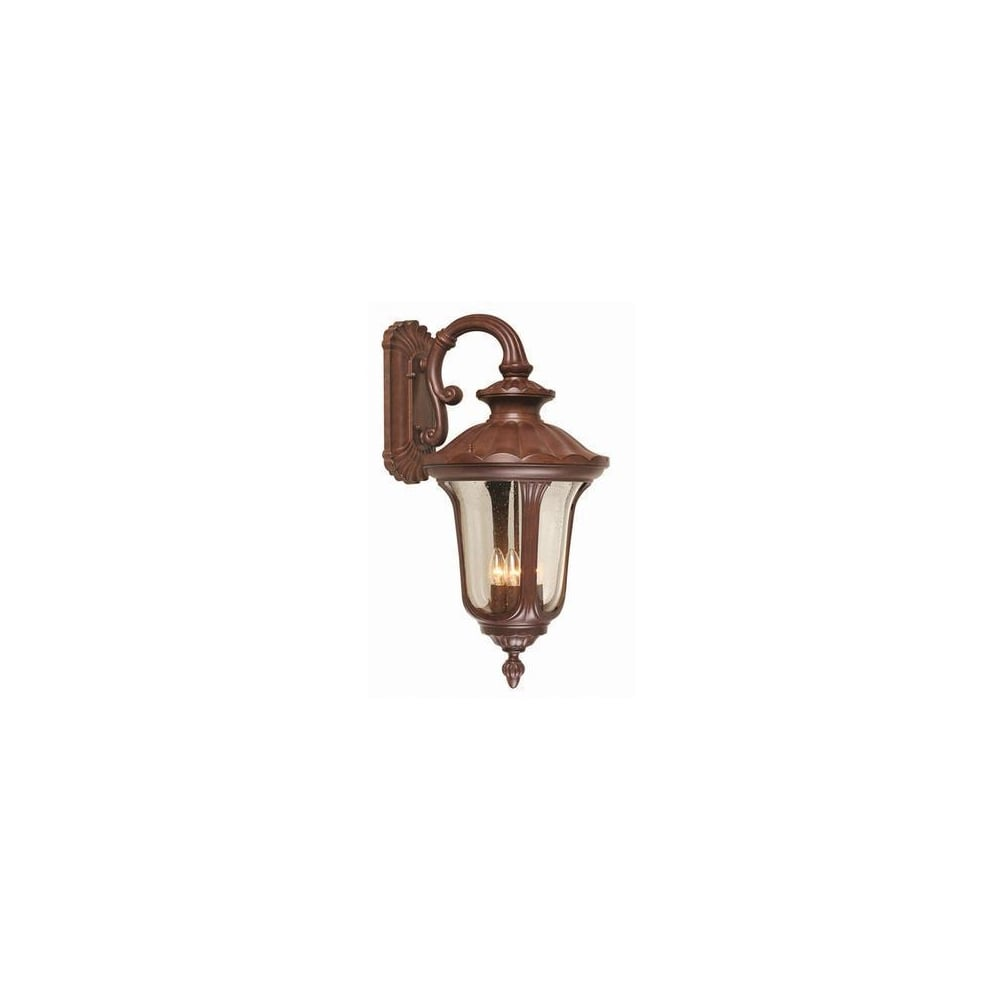 Chicago Lighting Company: Traditional Elstead CC2/L Bronze Outdoor Wall Lantern