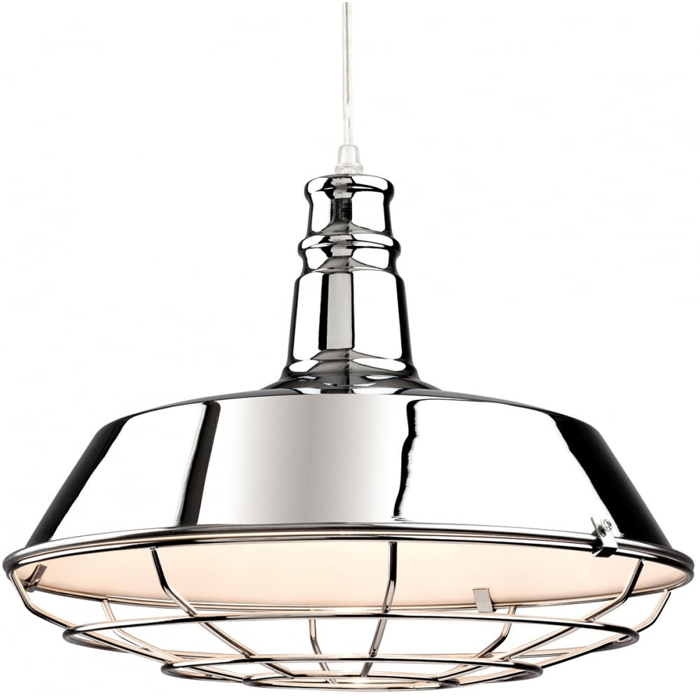 Manta 1 Light Ceiling Pendant 3444CH