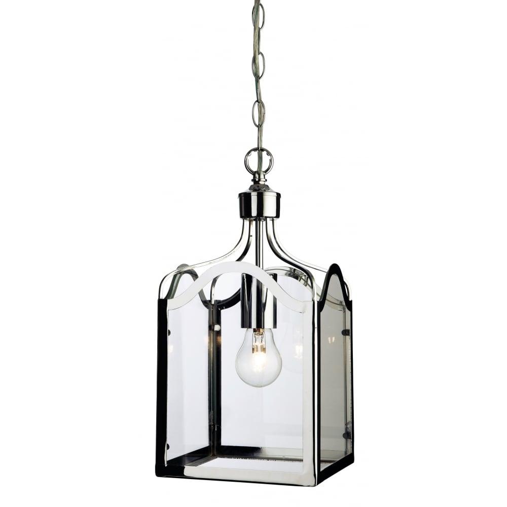 Monarch 1 Light Ceiling Lantern Pendant 8637CH