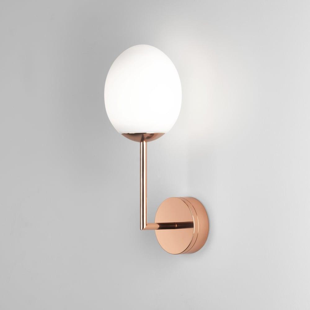 Astro Kiwi LED Copper Bathroom Wall Light