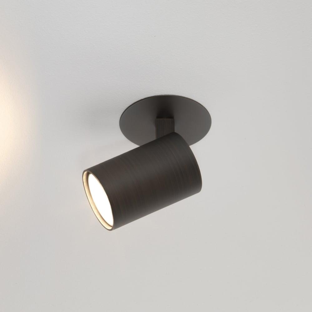 Astro 6150 Ascoli Recess Single Bronze Spotlight