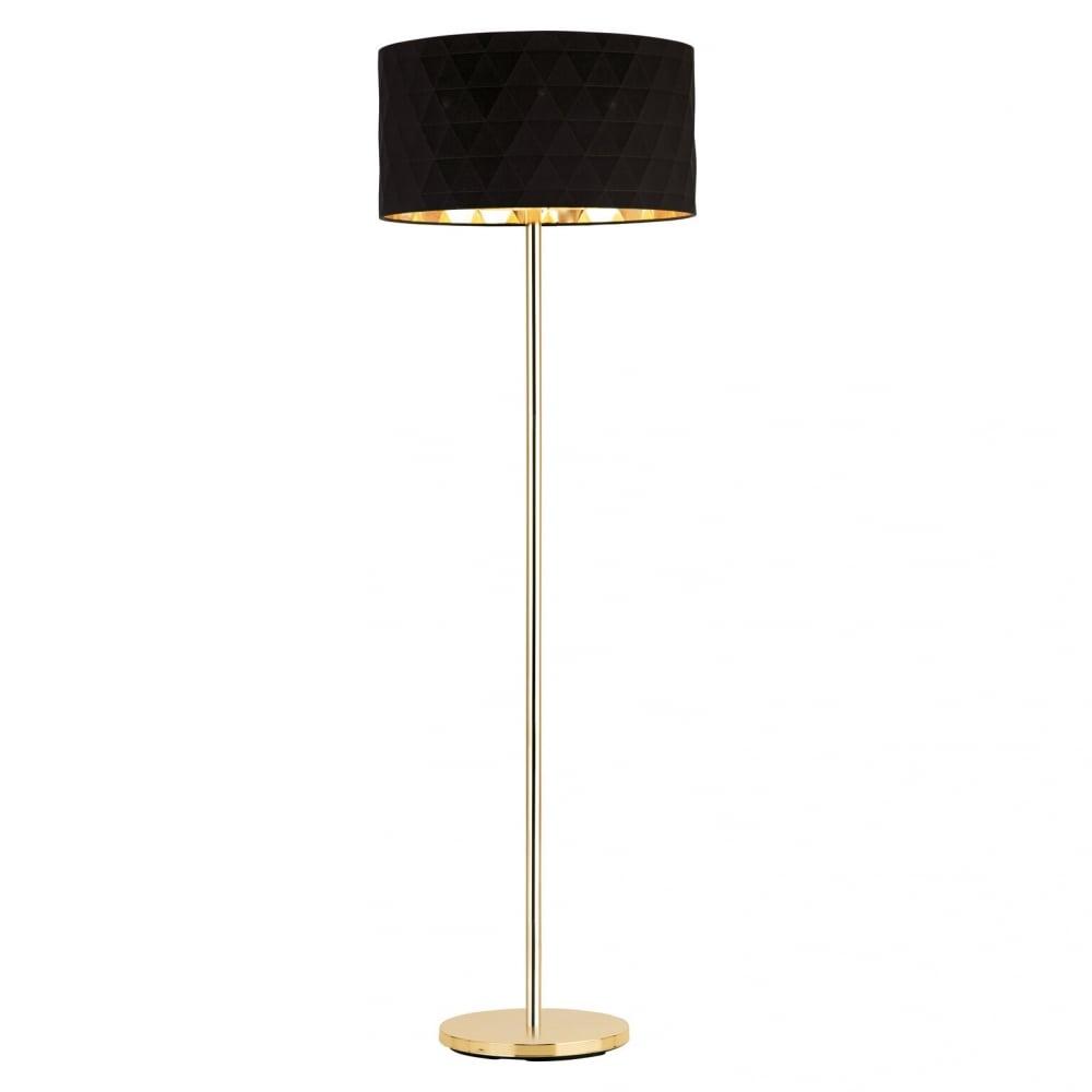 39228 Dolorita Floor Lamp Gold Black